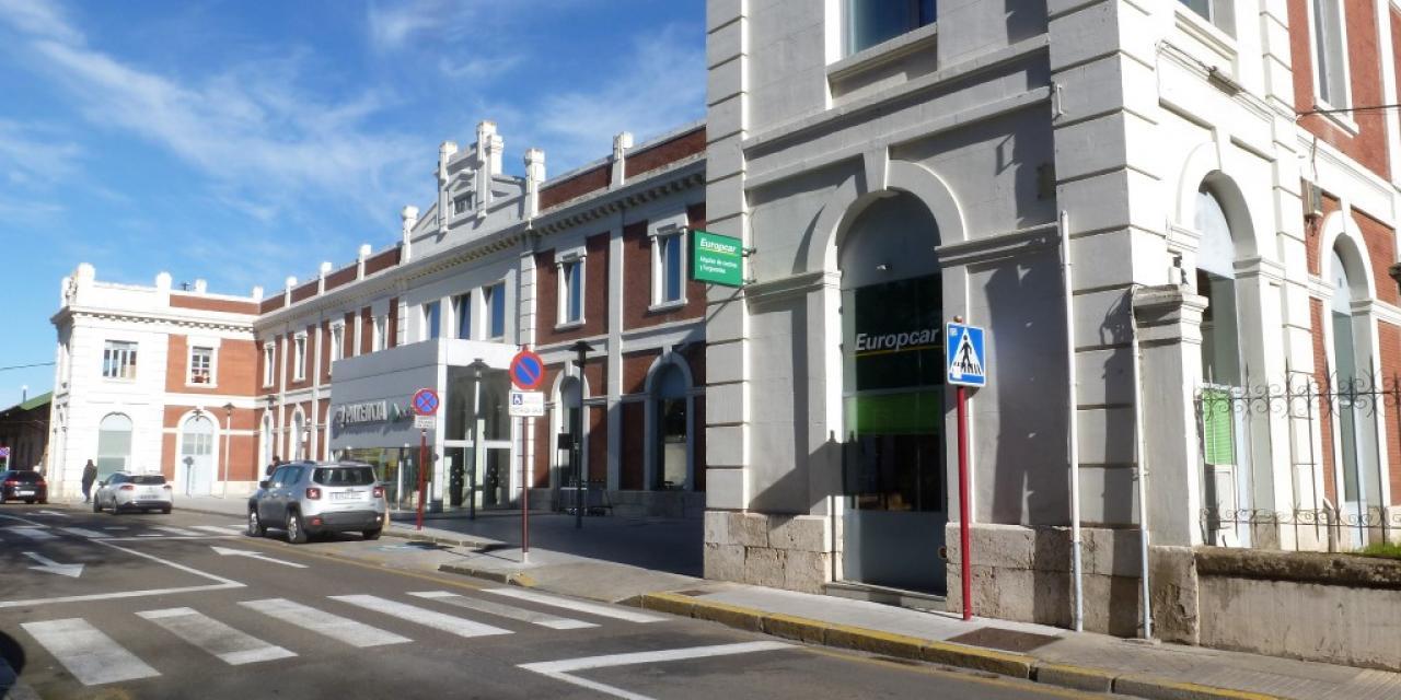 Estación de trenes de Palencia